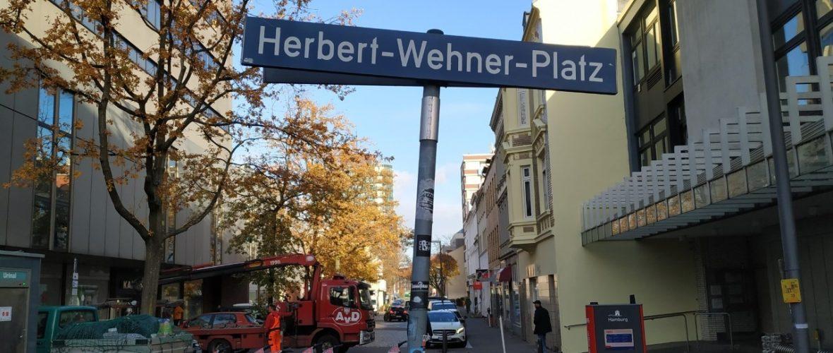 Herbert-und-Greta-Wehner-Platz – Harburger SPD will ein wichtiges Zeichen setzen