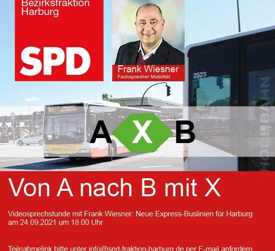 Online-Diskussion am 24.09.21 Von A nach B mit X – Neue Expressbuslinien